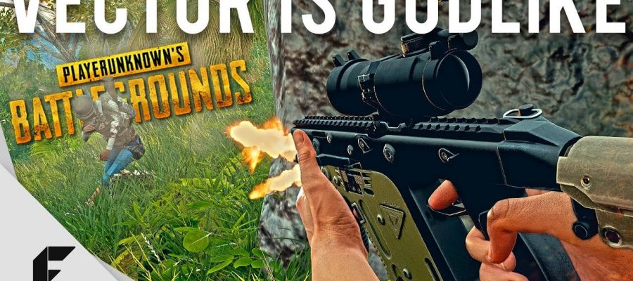 The Vector is now the best gun in PUBG – WORLD 4 GAMING