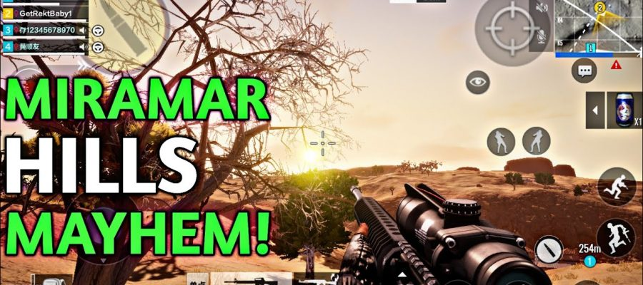 DESERT MAP FPP | PUBG TIMI GAMEPLAY | MIRAMAR HILLS MAYHEM